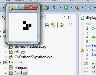 Conway's game of life in PyGame